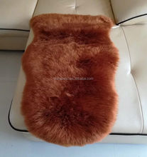 Popular style long hair pile acrylic polyester faux sheep skin rugs synthetic carpet faux fur floor carpet
