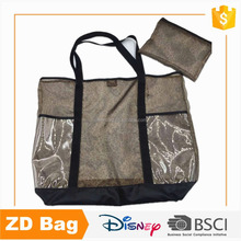 New Fashion Style High Quality Transparent PVC Hand Shopping Bag