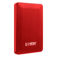 "KESU Colore Rosso Portatile 80GB External Hard Disk da 2.5 ""Hard Disk USB 3.0 HDD per PC/Mac"