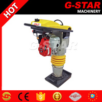 China compactor tamping rammer 70-100kg with GX100 gasoline engine