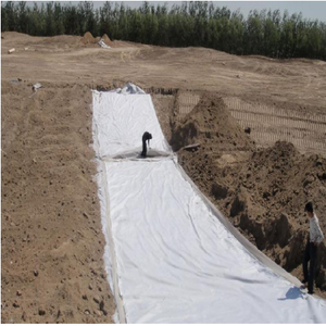 Road construction 400g non-woven polyester geotextile