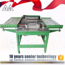 stain less steel van stone flange and round metal marking machine