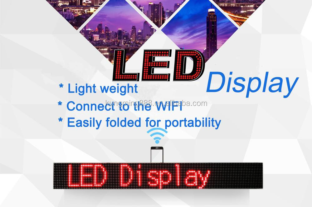 Wholesale Electronic USB Message Screen Small Red Led Display Indoor/Outdoor