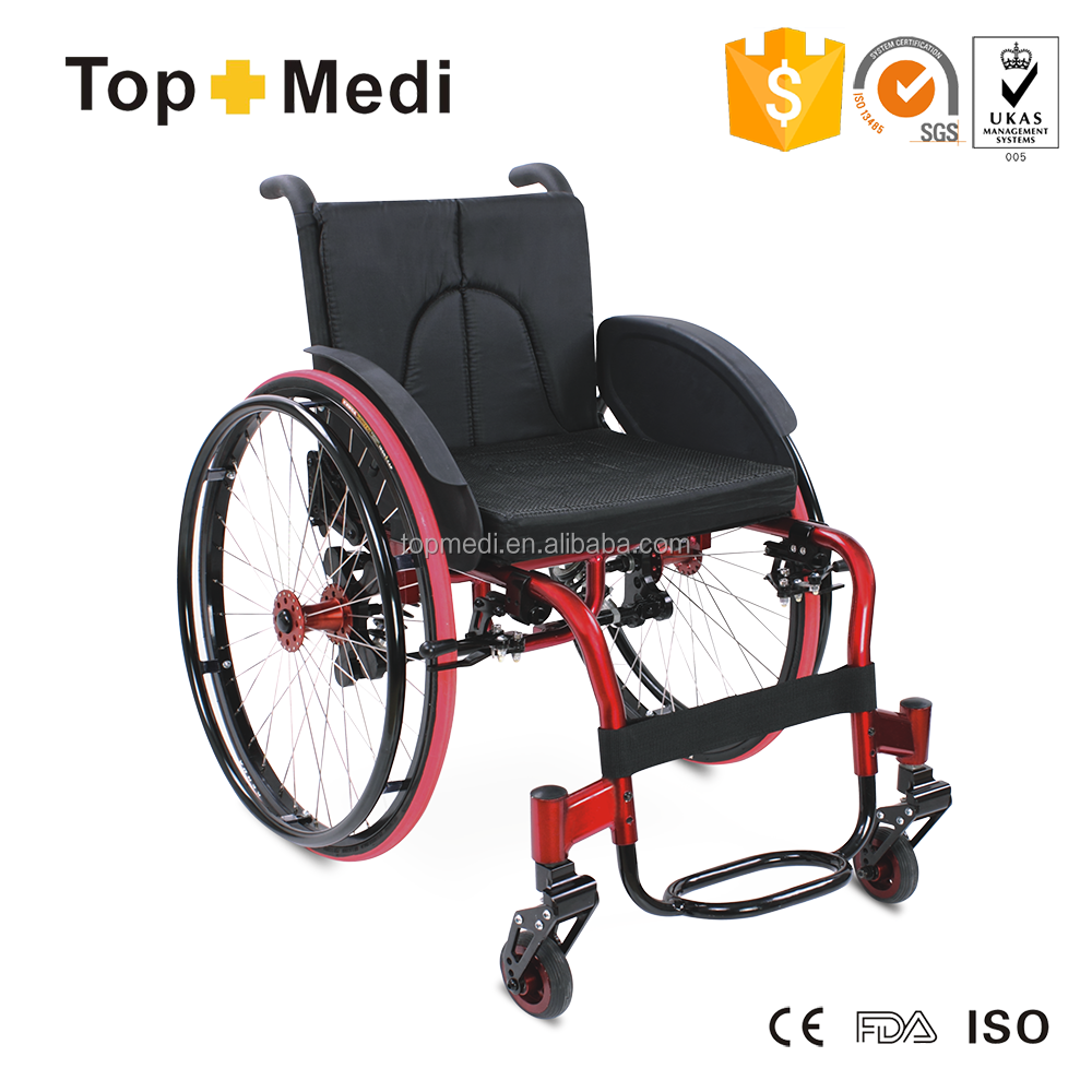 Topmedi leisure sport wheelchair manual