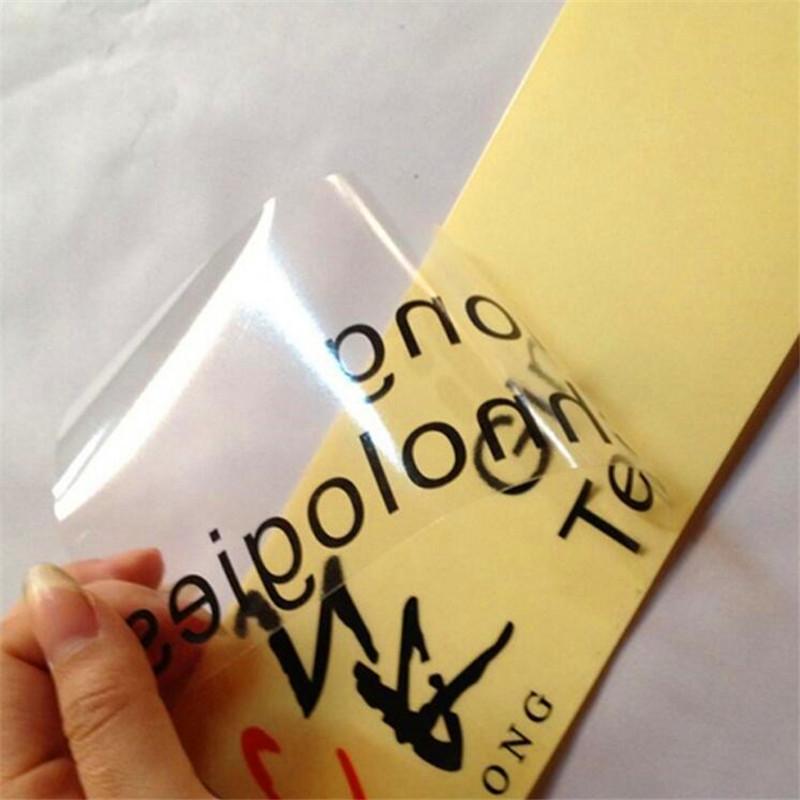 Custom print round plastic personalized clear transparent glass raised pvc logo label stickers