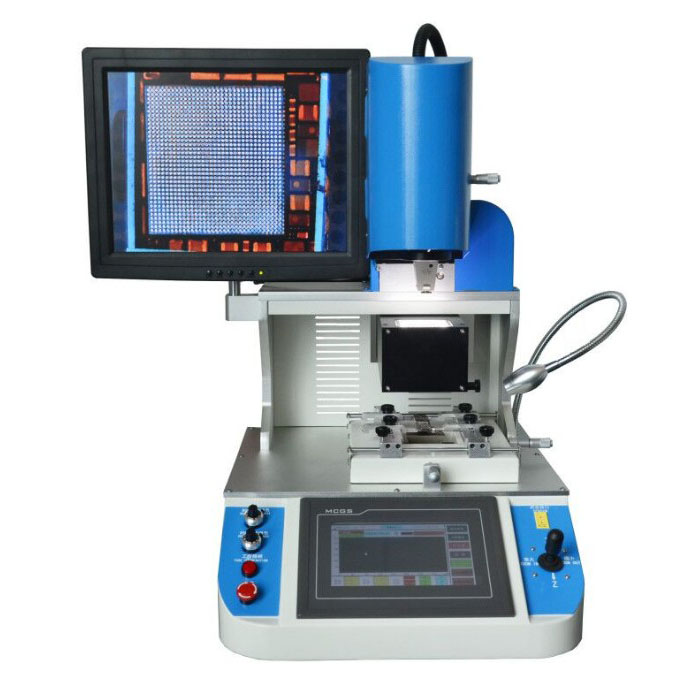 Free training WDS-700 selective voltage&plug mobile phone bga repair machine for ic <strong>welding</strong>