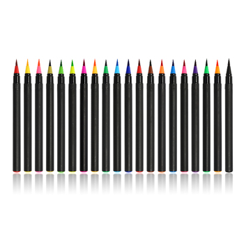 Non toxic permanent watercolor brush marker pen for kids drawing