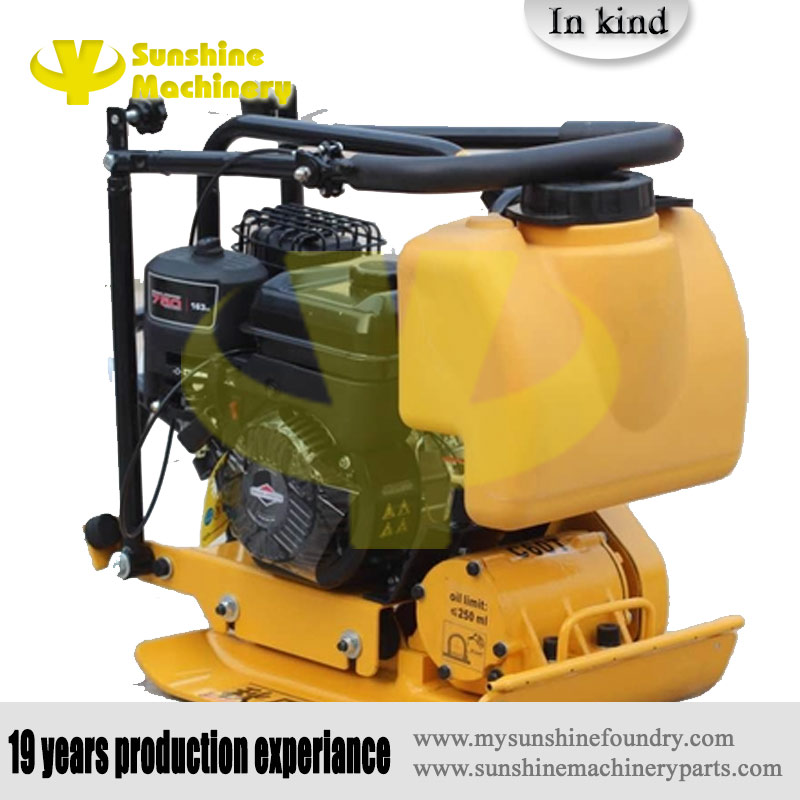 Sunshine machinery Portable Vibratory Earth Soil Plate Compactor,plate compactor suitable for compacting