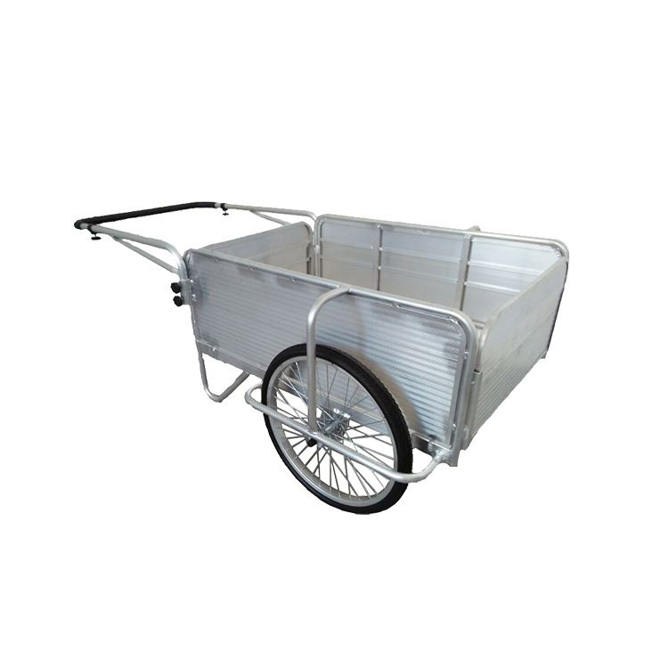 Wholesale garden hand cart load capacity 150 kg for cleaning yard or garden