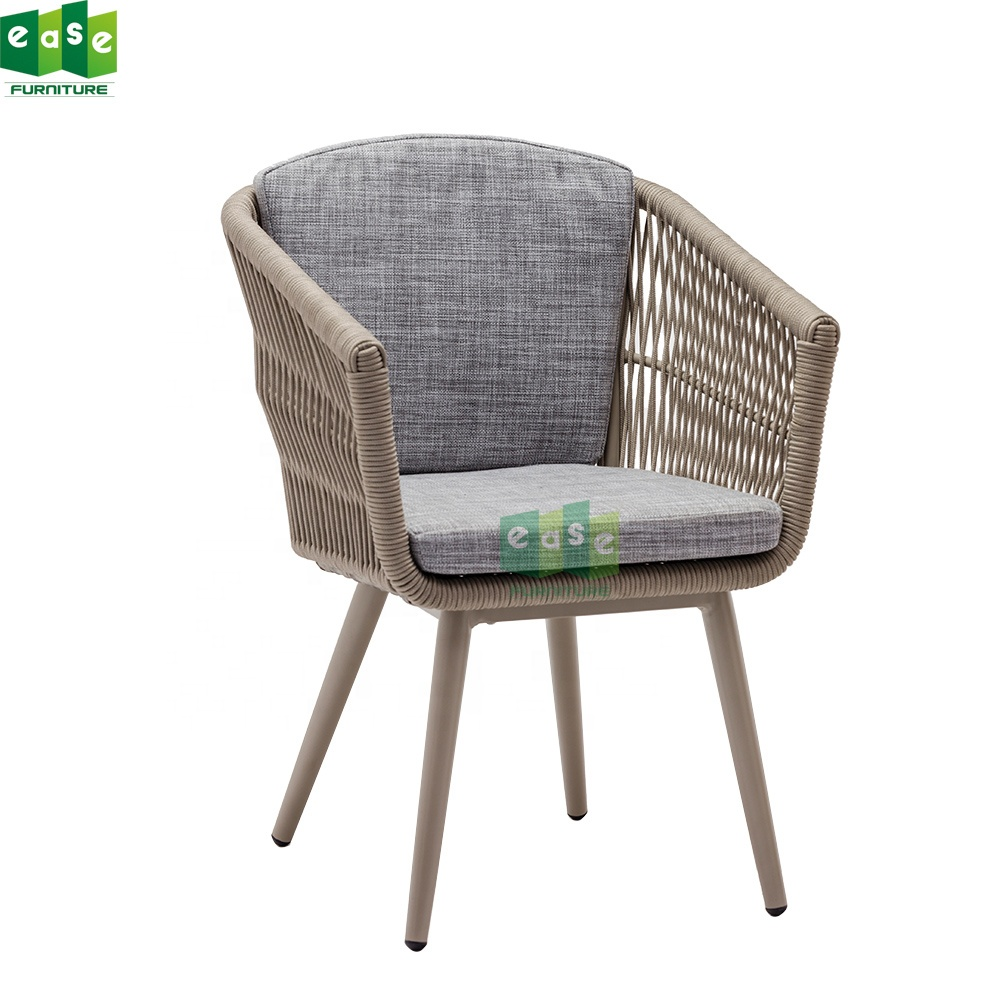 Wholesale White Rattan Wicker Patio Oval Chair Outdoor
