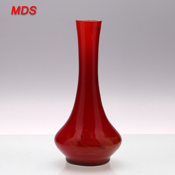 China Wholesale Cheap Red Cylinder Glass Flower Vase Buy Cylinder