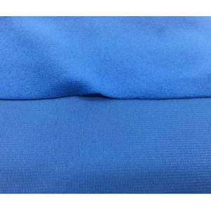 100% brushed velvet for garments blue velvet fabric cotton velvet fabric 80-240GSM/Blue