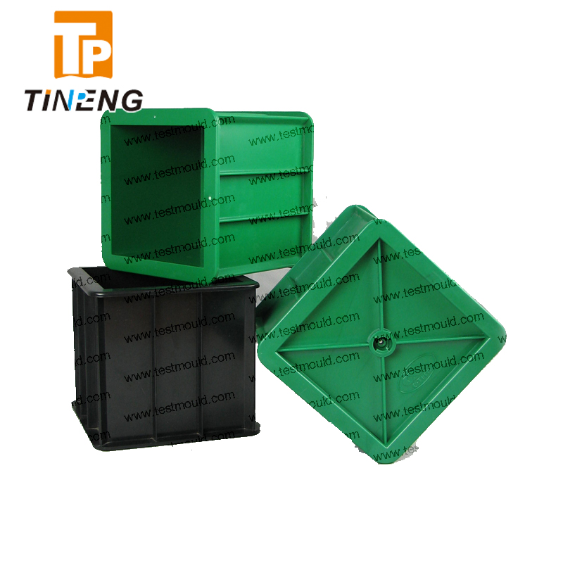 150mm one cube gang Plastic <strong>mould</strong>