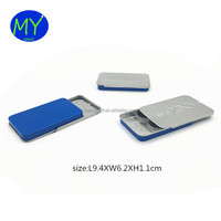 Custom Printed Wholesale Small Sliding Tin Box For Mint, Pill