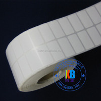 adhesive barcode label type thermal transfer label on roll for zebra 220 Xi4 printer