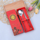 Popular spoon and chopsticks stainless steel china wedding gift set souvenir gift