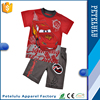Petelulu Summer Wholesale Children's Boutique Clothing Price of Outdoor Short Sleeve Boys Pant Shirt