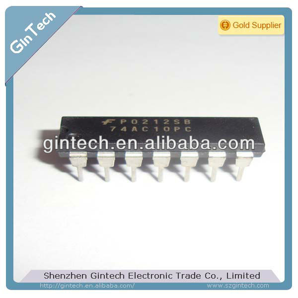 Triple 3-Input NAND Gate 74AC10PC 74AC10 DIP14