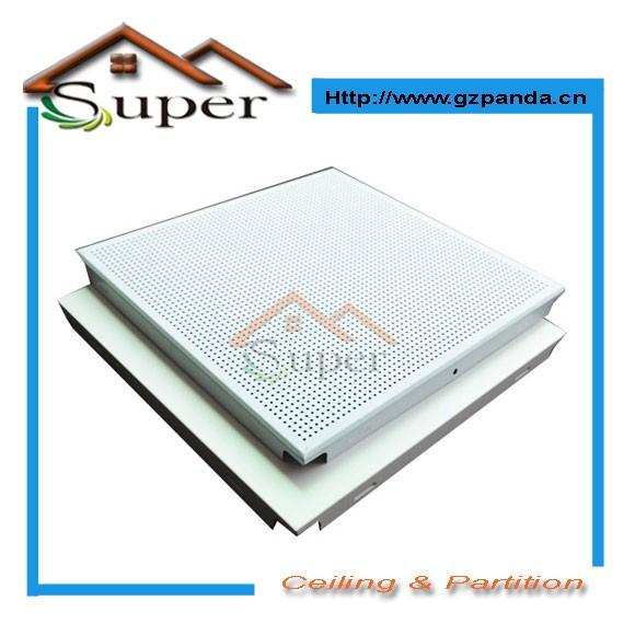 china top manufuturer suministro de azulejos del techo de aluminio para la construccin verde y el