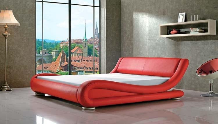 2016 shanghai furniture fair expo modern pu leather bed for X furniture shanghai