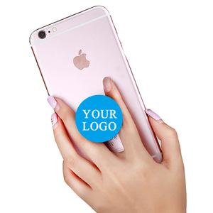 expanding cellphone cartoon popi socketsi cellphone grip phone stand with custom logo print mini