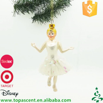 china supplier wholesale vintage hand blown glass christmas tree hanging ornaments