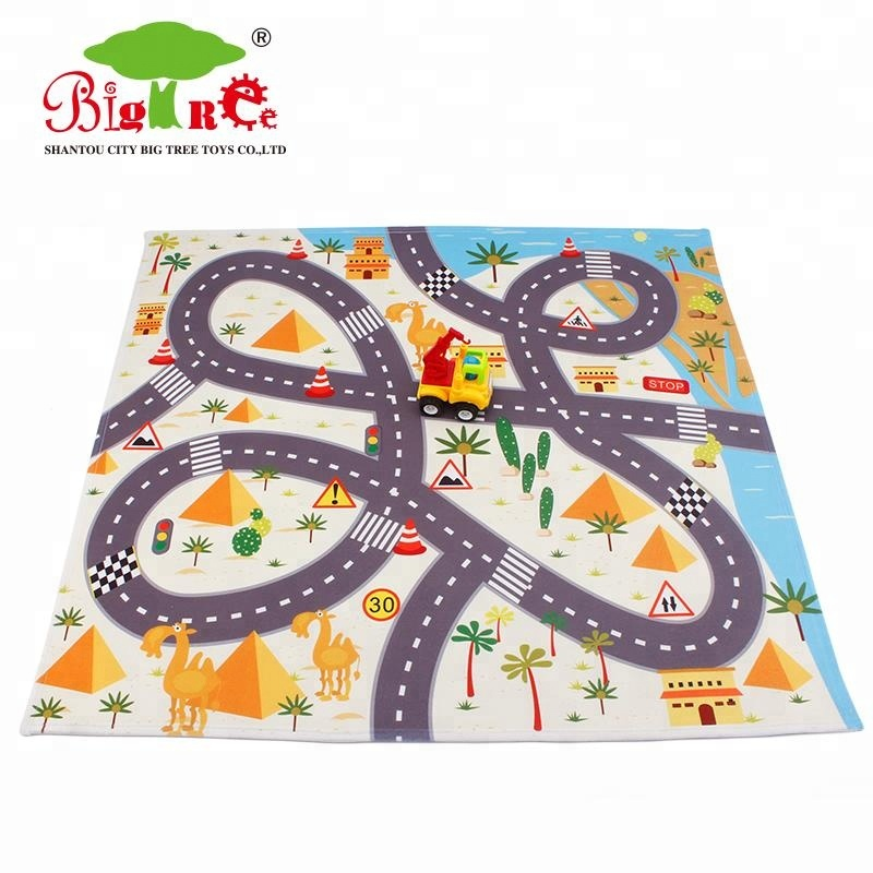anti-skidding toy game baby play mat for playing