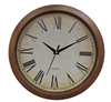Antique hot selling plastic wall clock with hidden safe