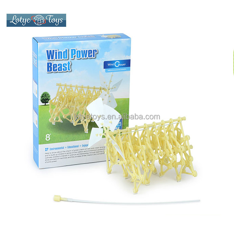 Diy Wind Power Beast Educational Toy Science Kit For Kids - Buy Science  Kit,Educational Science Kits,Science Kit For Kids Product on Alibaba com