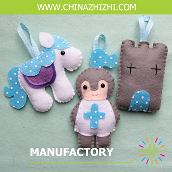 Diy Craft Kit For Children Diy Felt Sewing Kit Stuffed Horse Toy