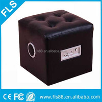 Foot Stool Bluetooth Speaker on Sofa Chair Stool 2x5W stereo sound