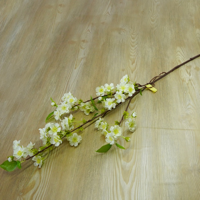 Wholesale Wedding Decoration Artificial Indoor Flower Japanese White Cherry Blossom