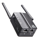 WiFi Range Extender Wireless Repeater 300Mbp Mini AP Access Point 2.4GHz with 2 or 3 ports wi-fi Signal Booster Amplifier