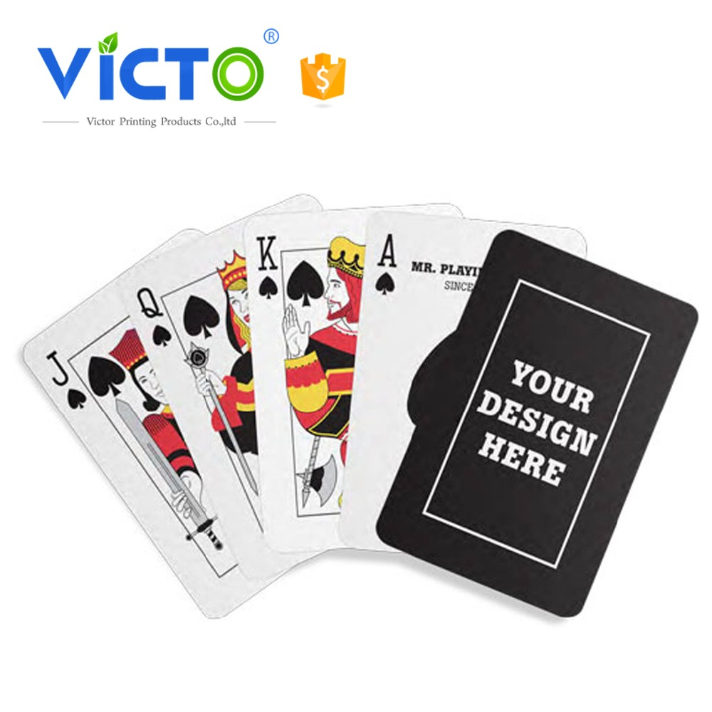 Cheap manufacture playing card manufacture printed playing card 777