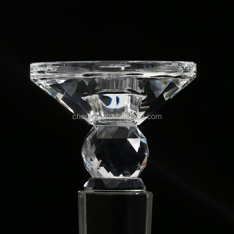 new product ideas white centerpieces tea light crystal candle sticks wholesale