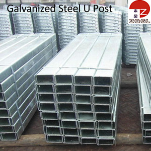 Road Barrier Galvanized Steel U Post
