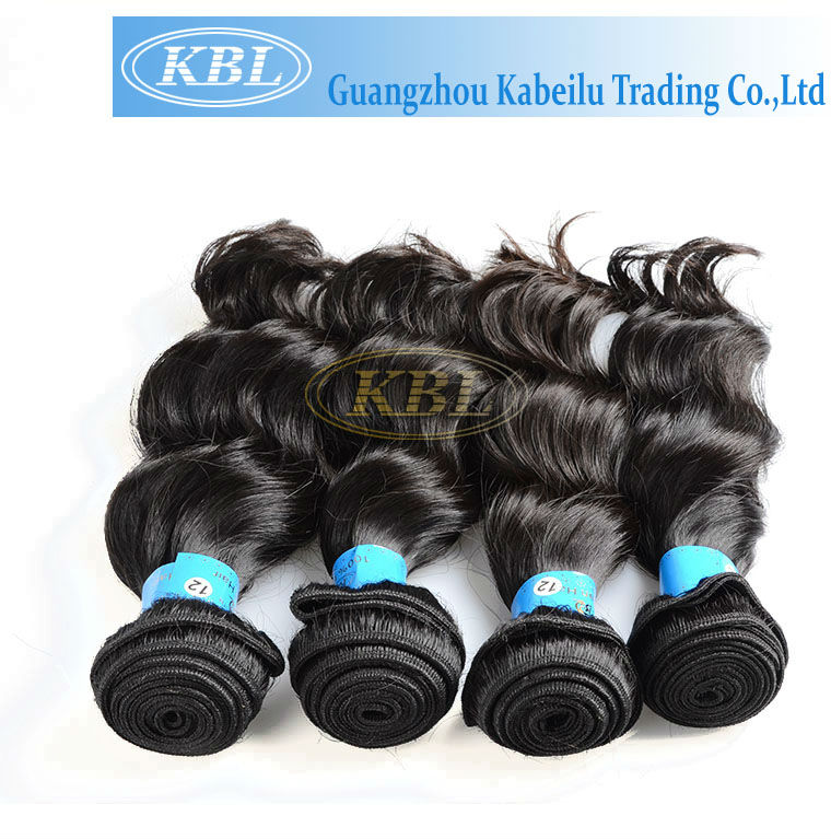 chian human hair supplier kbl brazilian virgin hair 5a