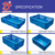 HDPE Heavy Duty Industry pallet box storage container foldable box  folding collapsible Turnover box plastic crate