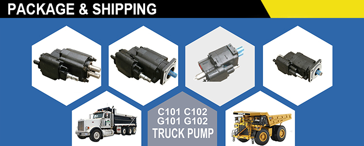 Hgh Quality Parker C101/C102 &G101/G102 Hydraulic Pump, Airshift Pump, Pto Gear Pump For Dump Truck from China