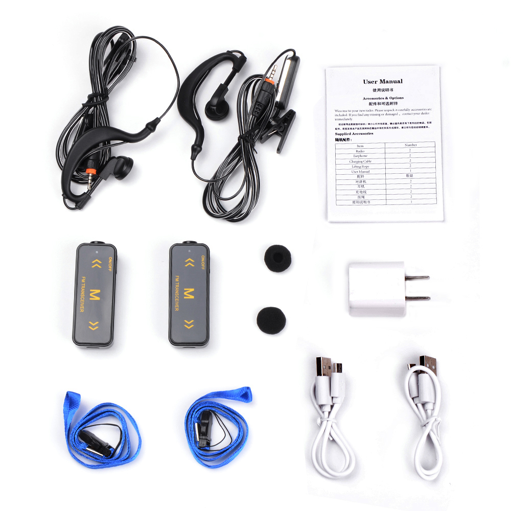Vitai Mini3 Talkie Walkie 16CH 1200 MAh DC 3.7 V 500 Meter Build-In Memadamkan Fungsi Mini Radio Polisi