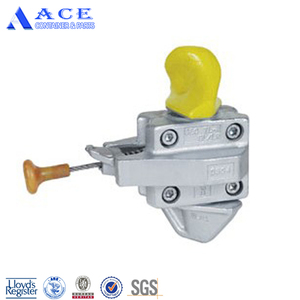 Semi Automatic Twistlock ISO Shipping Container Twist Lock