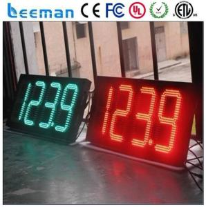 led countdown timer battery gps large countdown clock 88.88 led gas price station signs/display/panel