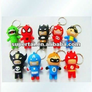 cartoon 32gb fashion and popular superman usb pen drive for super hero series