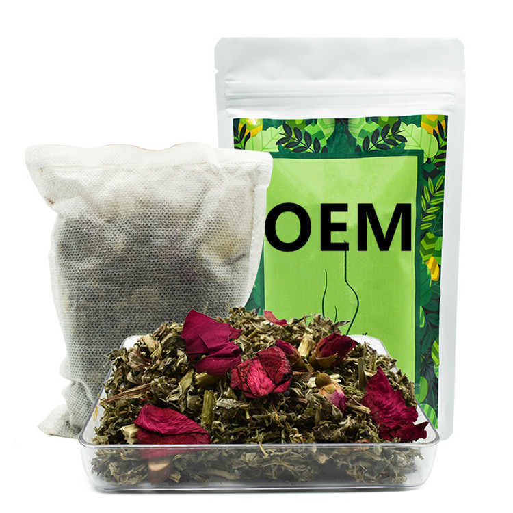 Private label yoni bath herbs 100% chinese natural herbal 50g vaginal steam yoni steam