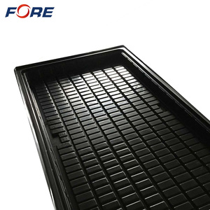 Nursery ABS Plastic Ebb Fodder Hydroponic Trays, 4*8 Large Flood Grow Table For Indoor Vegetable Planting