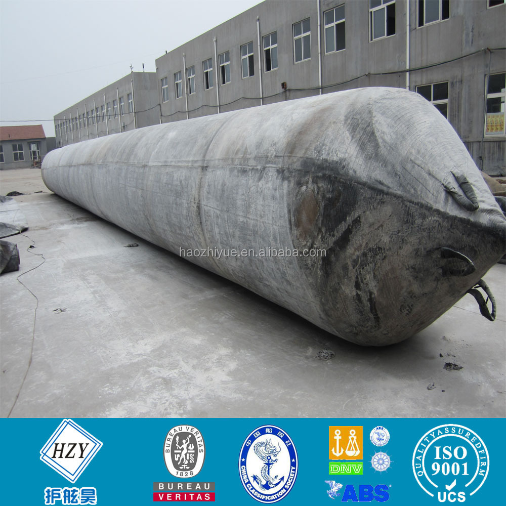High pressure marine rubber balloon for vessel launching and landing / airbags for boat