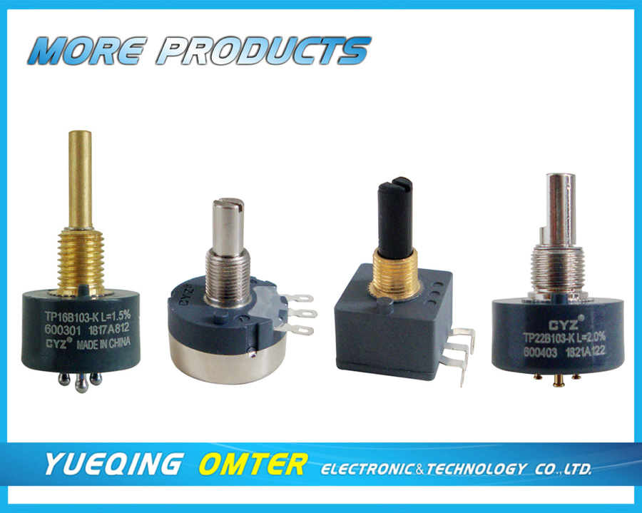 Good Quality 24mm precision linear rotary potentiometer