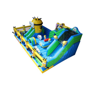 hot sale titanic inflatable fun park city for kids