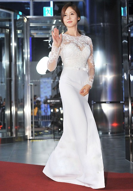 Red Carpet Dresses White Celebrity Dress 2016 Sexy High