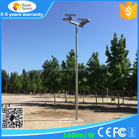 Adjustable solar panel 15W 20W 30W 40W 50W 60W all in one solar LED street light roadway light integrated solar parking lamp